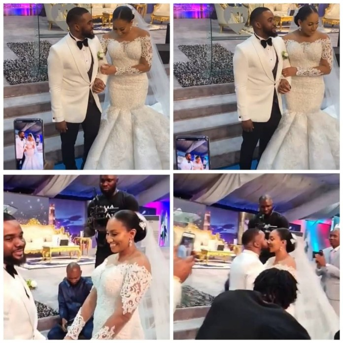 See Beautiful Photos From White Wedding Of Actor Williams Uchemba