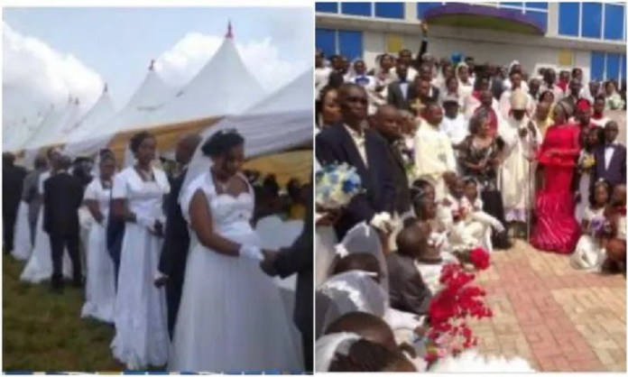 200 Couples Tie The Knot In A Mass Wedding In Anambra