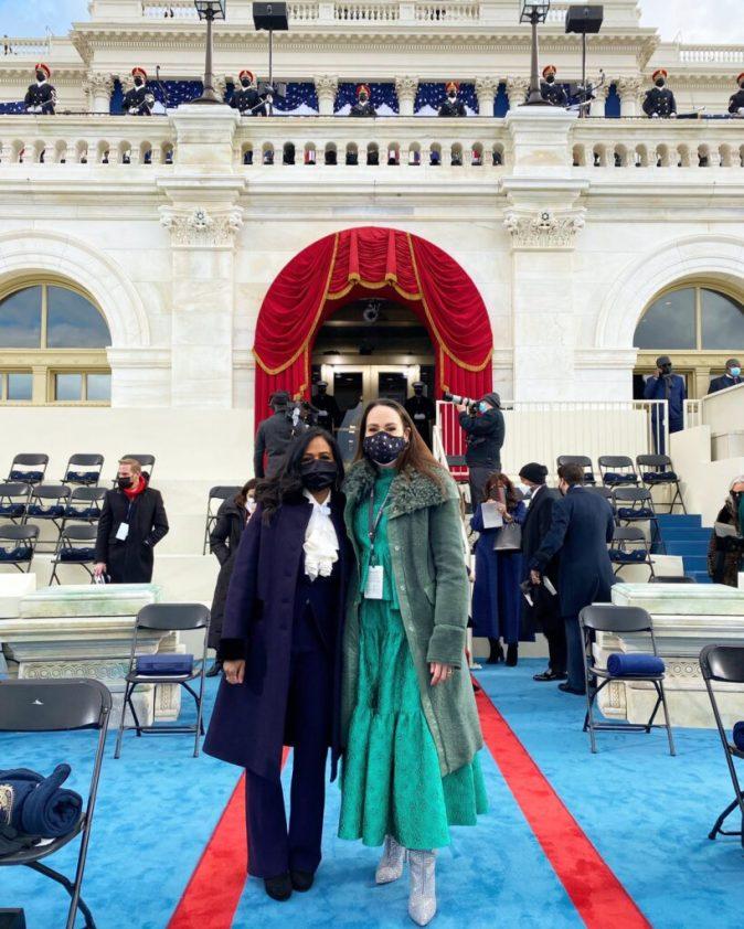 Kamala Harris Nigerian in-law, Nikolas Ajagu makes impact at the Inauguration (Photos)
