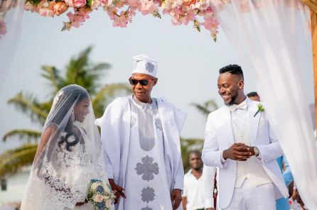 Simi Finally Releases Photos From 'Private Wedding' To Adekunle Gold To Celebrate 2nd Anniversary
