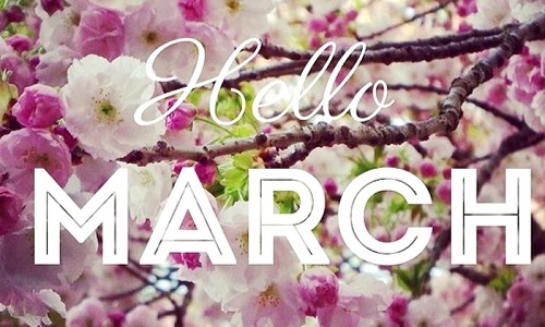 50 Happy New Month Messages March, New Month Prayers For March