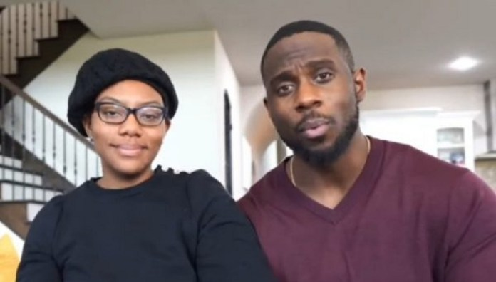 Wife Of Popular Relationship Expert, Derrick Jackson-Da'Naia Jackson Speaks Up After Viewers Expressed Concern When She Appeared In A Video With Her Husband As He Admitted To Cheating