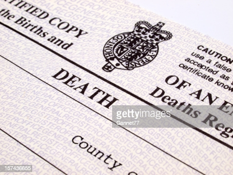 How I Found My Death Certificate With My Wife While I Am Still Alive.