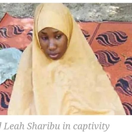 Leah Sharibu 'Reportedly' Gives Birth To Second Baby In Boko Haram Captivity