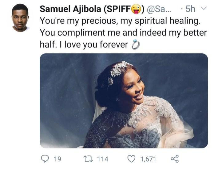 "Samuel ""Spiff"" Ajibola narrates how he met his wife"