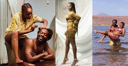 Adekunle Gold Celebrates Simi On Her 33rd Birthday (Photos)