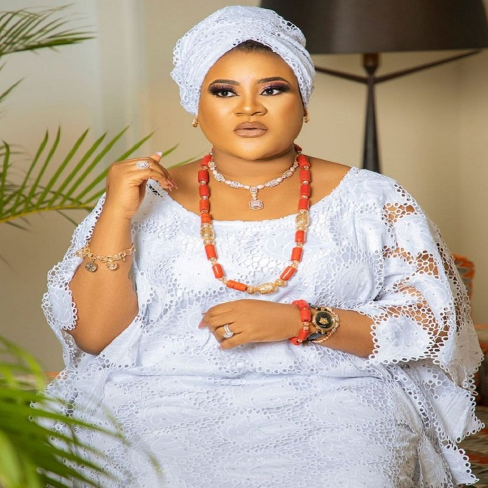 """""""How Nigerians Are Quick To Jubilate Over A Broken Marriage Is Pathetic"""" – Actress, Nkechi Blessing Sunday"""