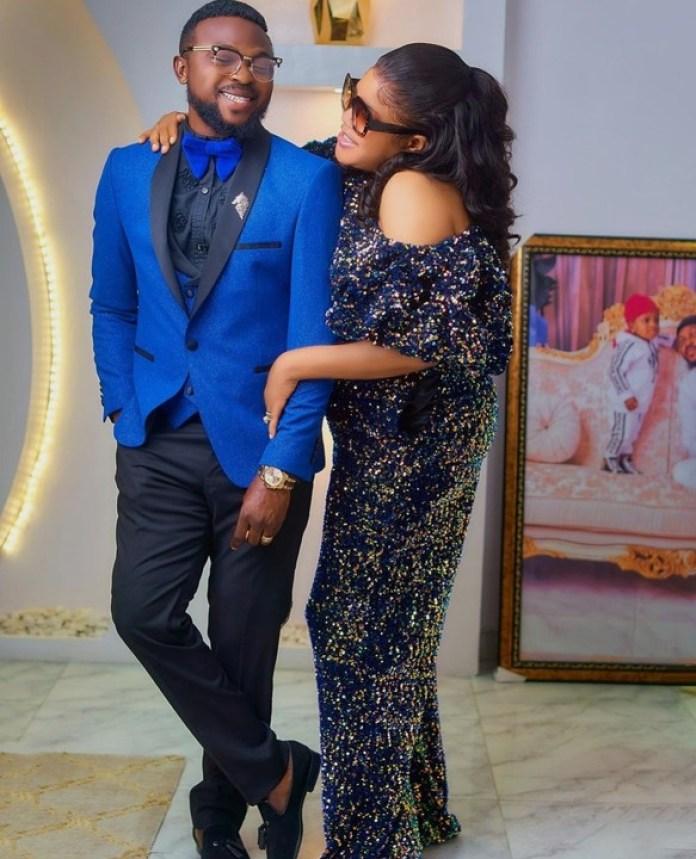 Toyin Abraham Hails Her Husband, Kolawole Ajeyemi For Their Sweet Marriage