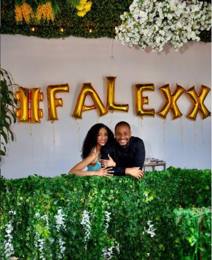 Alex Ekubo announces his engagement to longtime girlfriend, Fancy Acholonu
