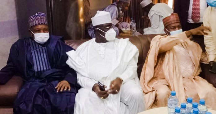 Governors, ministers, lawmakers attend wedding of AGF, Abubakar Malami's son (photos)