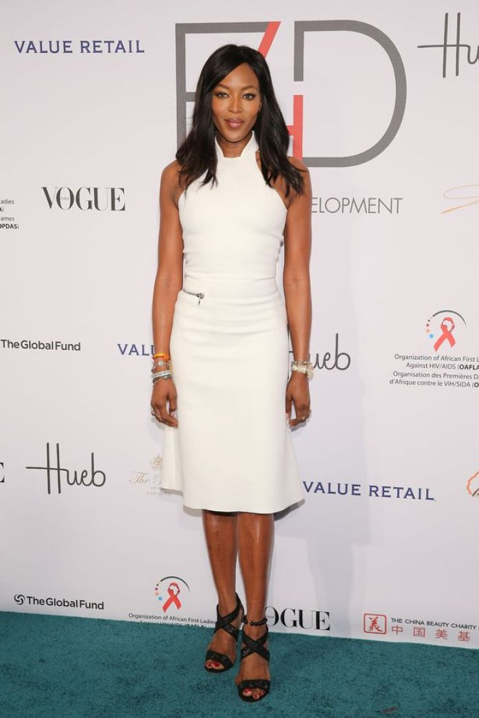 Naomi Campbell announces the surprise arrival of her baby daughter at age of 50