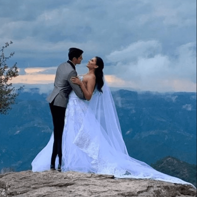 Newly-crowned Miss Universe winner, Andrea Meza, forced to deny she is married after 'wedding pics' emerge that could strip her of title
