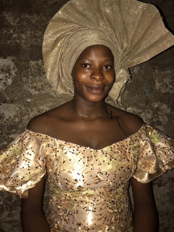 Ooni of Ife's wife attends naming ceremony of incarcerated Endsars protester's child (photos)