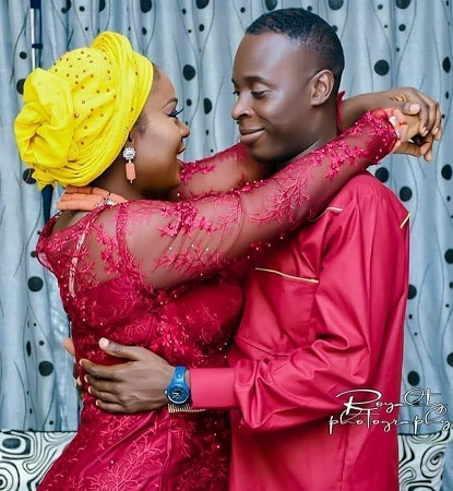 Actress Motilola Adekunle announces her marriage to her airforce husband is over