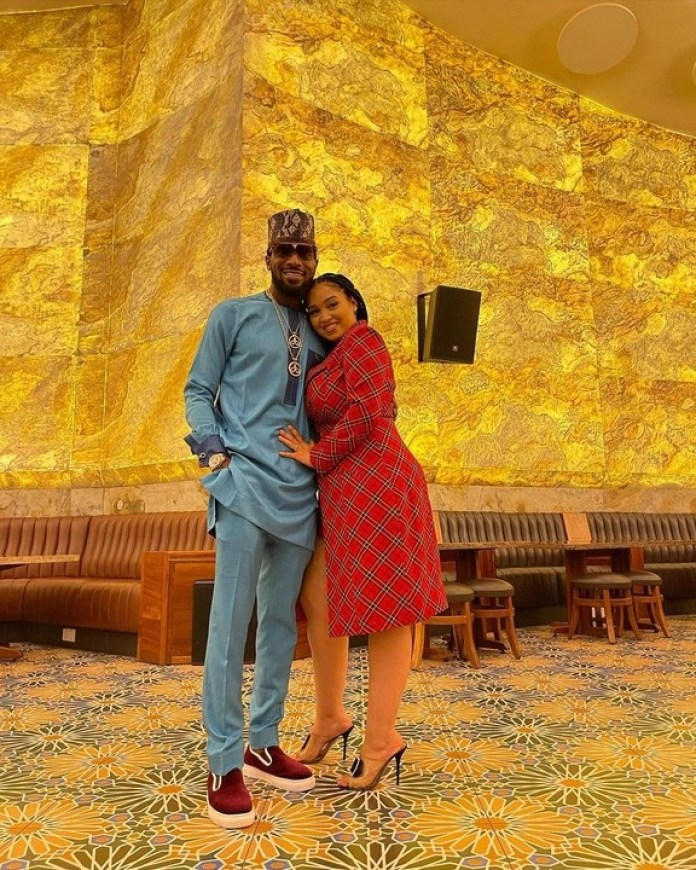 D'banj And His Wife, Lineo Celebrate 5th Wedding Anniversary (photos)