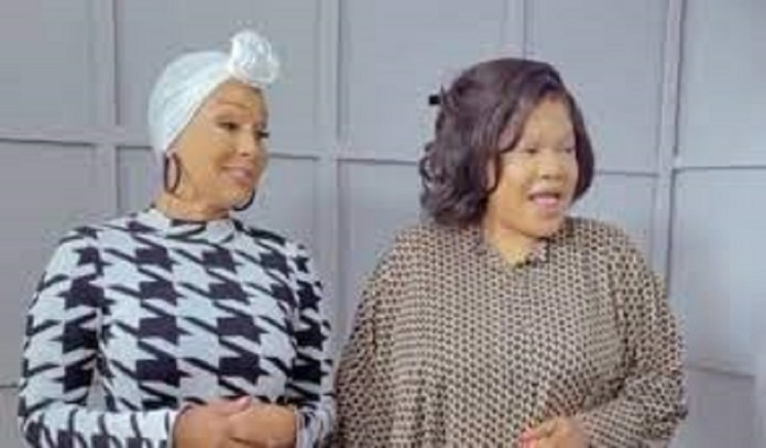 """""""Nigerian Men Are The Best, They Don't Cheat"""" – Actress, Toyin Abraham Tells Her American Counterpart, Lisaraye Mccoy (Video)"""