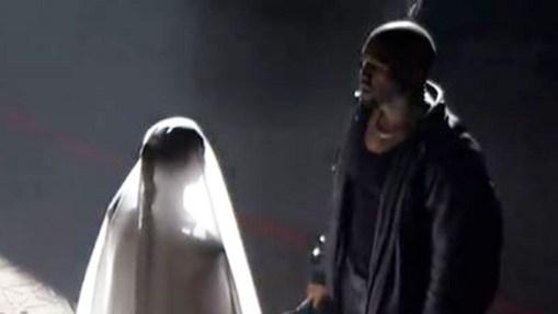 Kanye West & Ex Kim Kardashian Spark Reconciliation Rumors As Kanye Recreates Wedding at Donda Listening Event