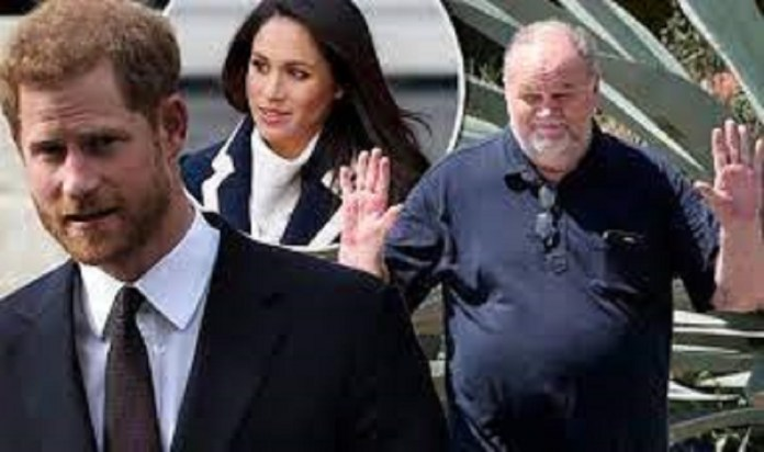 """Meghan Markle's Dad Slams Prince Harry Again """"I'm Blaming Harry For This"""" He Did Not Ask Me For Permission To Marry Meghan"""