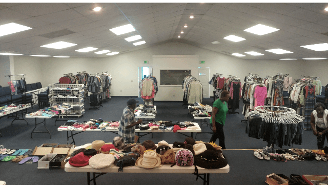 Free Clothes Give Away Lively Stones Ministries Worship Center