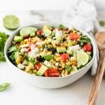 Grilled Corn Summer Salad