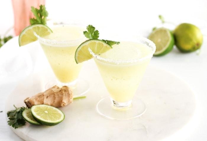 Lemongrass Cilantro Margarita