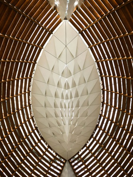 ceiling detail | Cathedral of Christ the Light