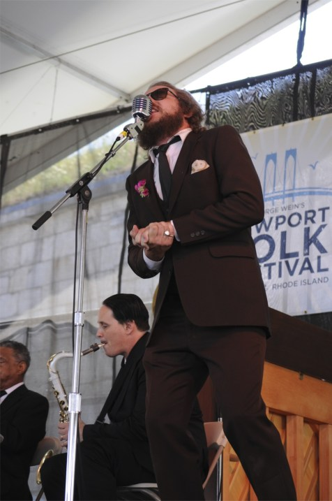 Preservation Hall Jazz Band with Yim Yames @ Newport Folk 2010