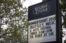 bumbershoot sign