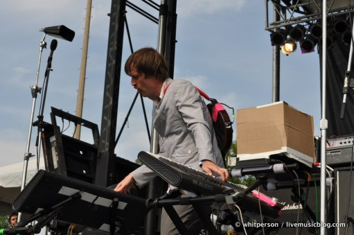 Battles @ Pitchfork Music Festival Chicago 7/15/11