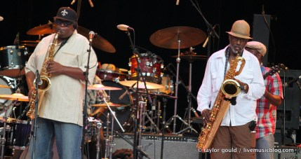 Dirty Dozen Brass Band @ Chastain Amphitheatre, Atlanta 7/30/11