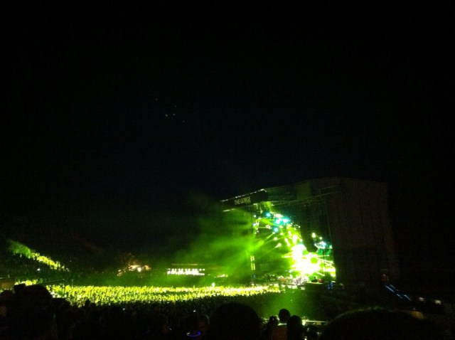 Phish @ The Gorge, 8/5/11 | Photo by Justin Ward