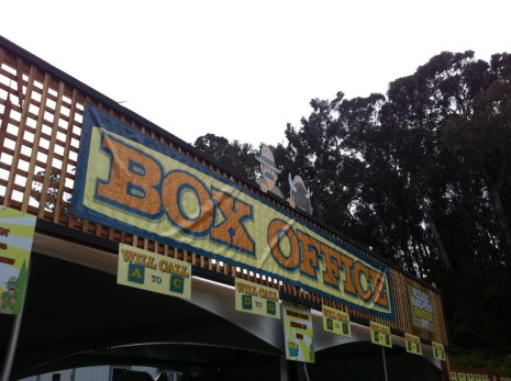 Box Office @ Outside Lands 2011