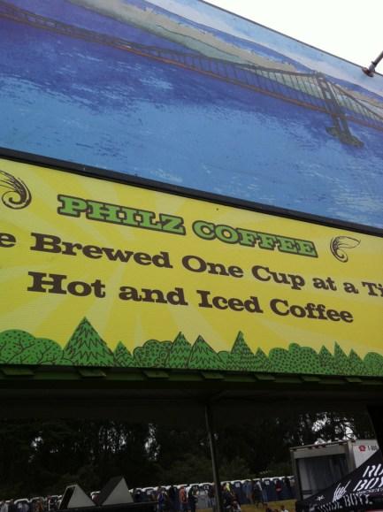 Philz Coffee @ Outside Lands 2011