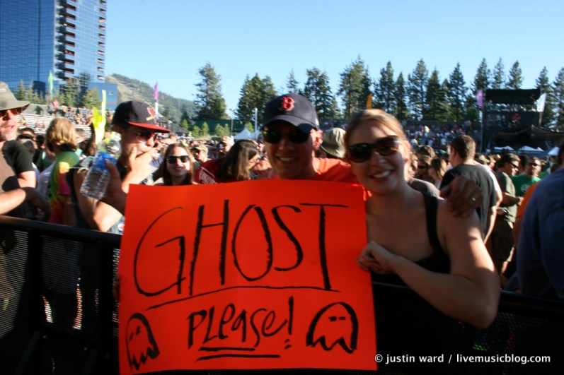 Phish @ Harvey's Outdoor Arena, Lake Tahoe 8/9/11