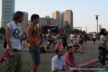 Lollapalooza Day 2 Crowd