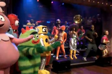 yo gabba gabba on late night with jimmy fallon