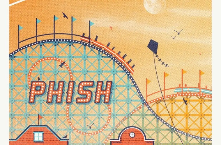 phish bader field poster