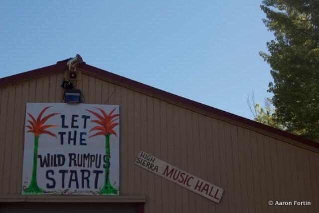Let the Wild Rumpus Start, HSMF 2012