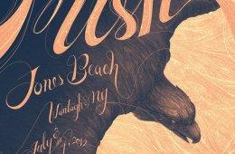 phish jones beach poster