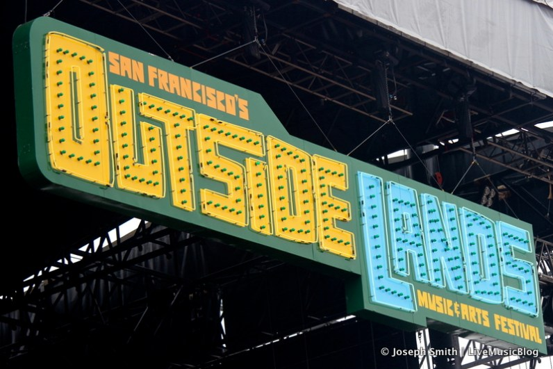 Main Stage Sign @ Outside Lands 2012 || Photo © Joseph Smith