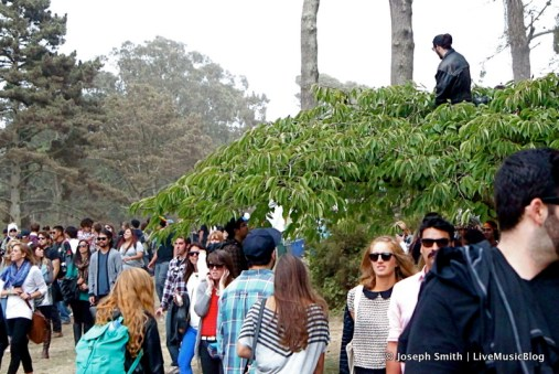Fans @ Outside Lands 2012 || Photo © Joseph Smith