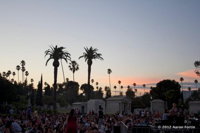 Hollywood Forever Cemetery Sigur Ros