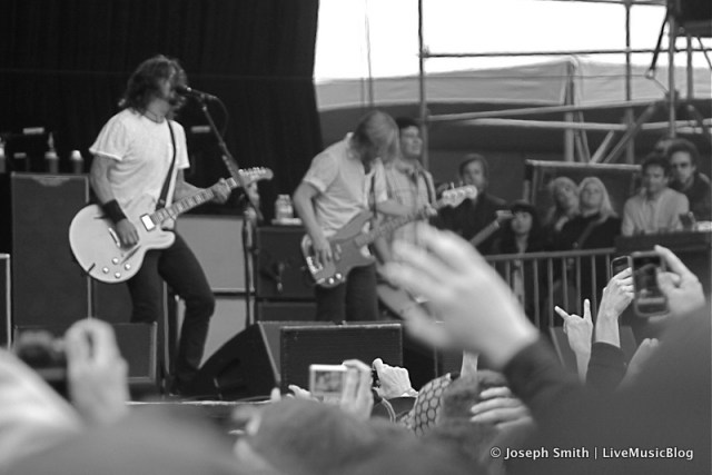 Foo Fighters @ Outside Lands 2012    Photo © Joseph Smith