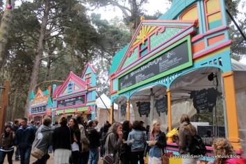 Choco Lands Vendors @ Outside Lands 2012 || Photo © Joseph Smith