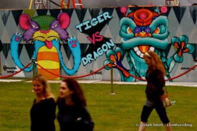Graffiti Art @ Outside Lands 2012 || Photo © Joseph Smith