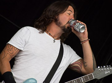 Dave Grohl of Foo Fighters @ Outside Lands 2012 || Photo by Jimmy Grotting