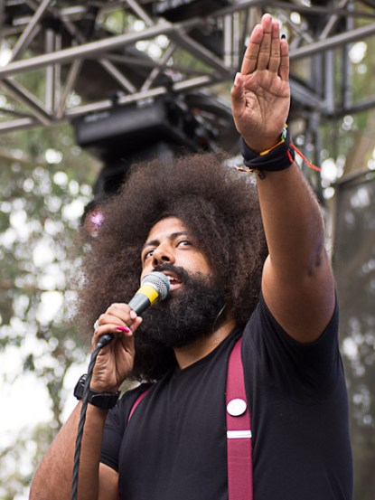 Reggie Watts @ Outside Lands 2012 || Photo by Jimmy Grotting
