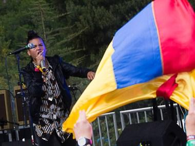 Bomba Estereo @ Outside Lands 2012 || Photo © Jimmy Grotting
