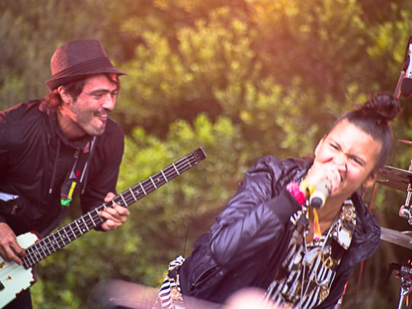 Bomba Estereo @ Outside Lands 2012 || Photo © Jimmy Grotting