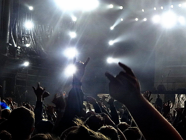 METALLICA Fans @ Outside Lands 2012    Photo © Wesley Hodges